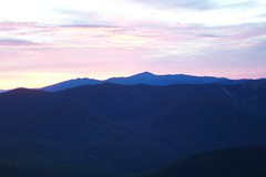 Sunrise on Franconia Ridge
