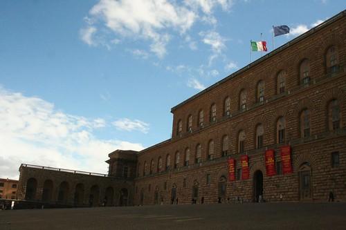 Palazzo Pitti em Florenca Monumentos Italia