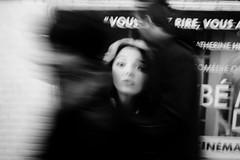 monsieur, madame...s'il vous plaît, Aidez-moi!! (luca.nassini) Tags: bw woman white man black paris france face donna couple metro bn uomo help francia bianco metropolitana nero viso ragazza coppia parigi ragazzo mosso volto aiuto