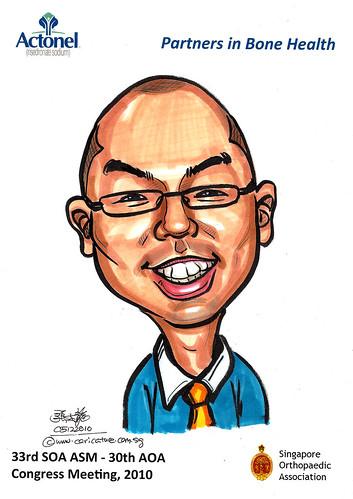 Caricatures for Sanofi-Aventis - 26