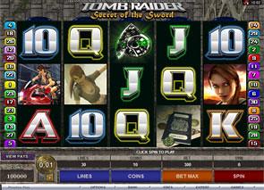 Tomb Raider: The Secret of the Sword