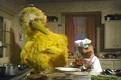 Big Bird and the Swedish Chef