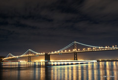The Ghost Ship (idashum) Tags: sanfrancisco california christmas bridge holiday night bay nikon baybridge bayarea ida shum sfbay nightexposure holidayspirit d300 idashum idacshum