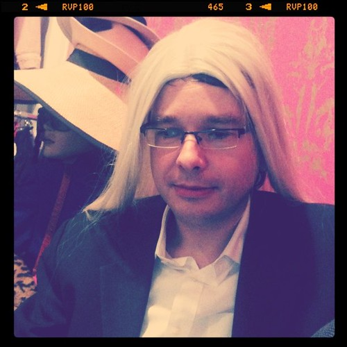 Frau Knüwi ist auch da #blogger2010