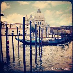 LE GRAND CANAL DE VENISE (IsabelleSM) Tags: venice italy texture church water europe basilica dream gondola venise squared ttv florabella