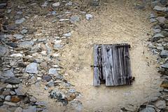 IMG_4428_sm (losvizzero) Tags: old broken window switzerland ticino stones blinds ruined flickrchallengegroup 15challenges losvizzero southternswitzerland