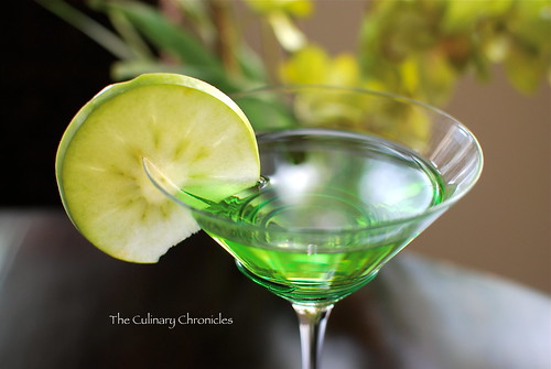 Pucker Up With A Green Appletini