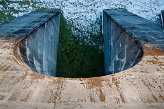 On dam wall (Keive Murphy) Tags: uk snow wales dam perspective reservoir aberystwyth geotag nantymoch