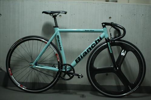 My Bike Bianchi Super Pista Celeste