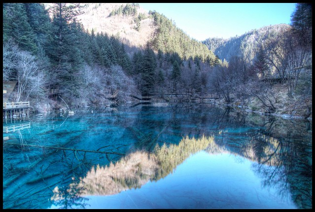 jiuzhaigou reflection