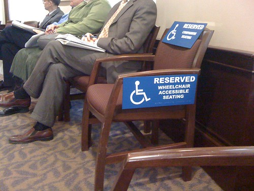 City Hall wheelchair accessibility