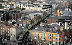 DART trains, Dublin, Ireland. (2c..) Tags: city ireland summer dublin building evening bridges railway trains dailycommute railways 2c 72dpipreview lowresolutionpreview