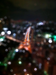 December (moaan) Tags: street tokyo view illuminations tokyotower nightview 2010 iphone fakebokeh iphone4 gettyimagesjapanq1 gettyimagesjapanq2
