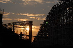 Blackpool Pleasure Beach.. (Assault19) Tags: blackpool rollercoasters woodencoaster blackpoolpleasurebeach woodrollercoaster pleasurebeachblackpool blackpoolsunset steelrollercoaster bigdipperblackpool blackpoolrollercoaster pepsimaxbigoneblackpool blackpoolrollercoasters