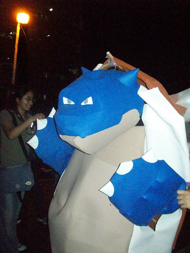 King Blastoise Waving