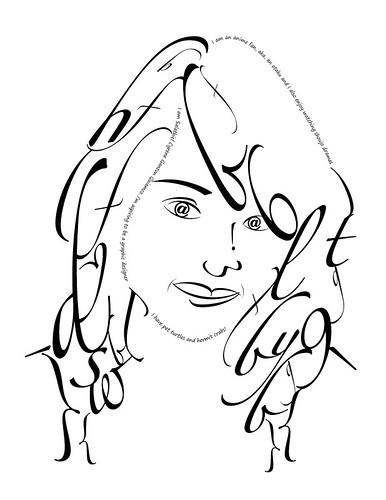 Typeface Portrait