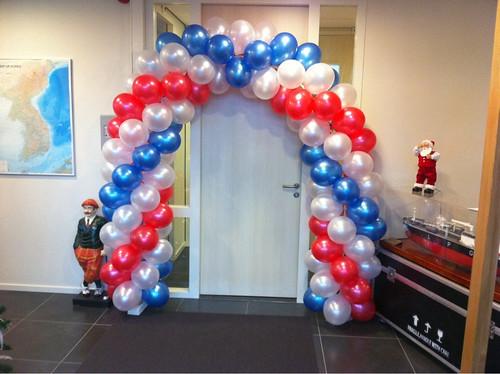 Ballonboog 5m Opening Engine Partners Spijkenisse