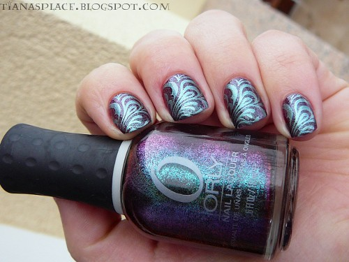 Orly - Galaxy Girl + Konad #3