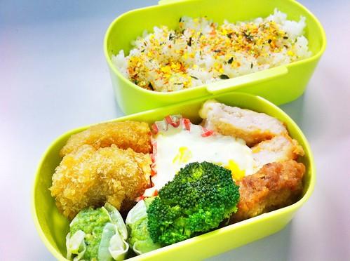 今日のお弁当 No.76 – 緑黄野菜