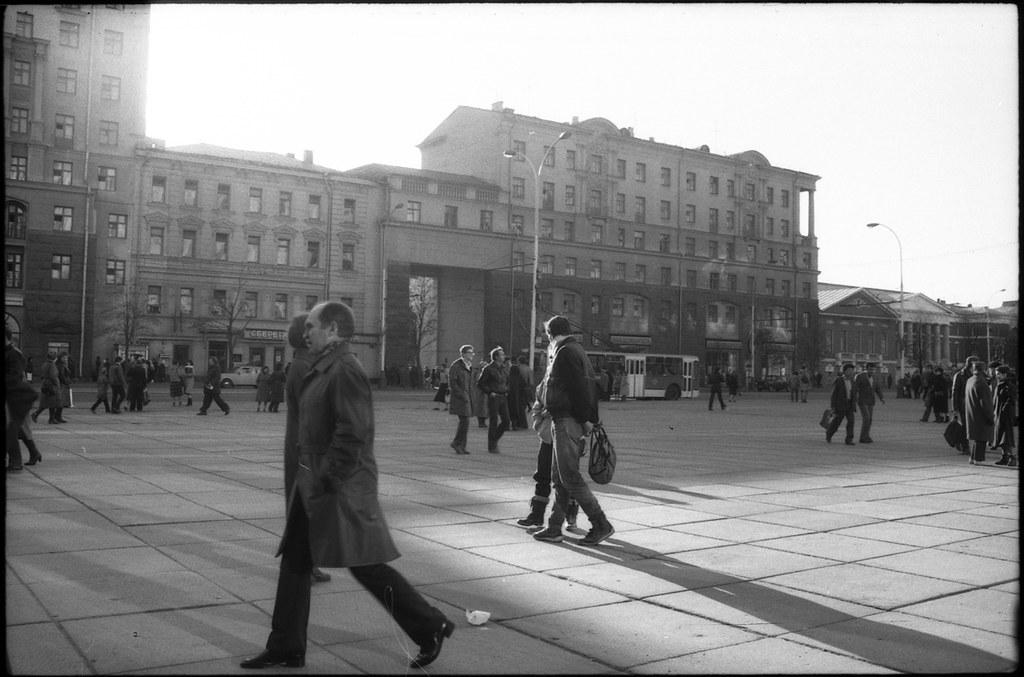 Ул. Горького/ Москва 1986