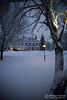 Winter evening (MHjerpe) Tags: christmas winter snow cold tree ice outdoors evening sweden nobody karlstad julbord värmland deje herrgård cristmastree dömle
