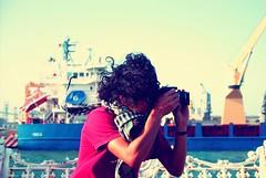 against all odds (David A Córdova M) Tags: sea vintage mexico puerto photography boat mar photo barco foto shot brother sony picture hermano fotografia alpha veracruz amateur banca davidcordova deividcordova