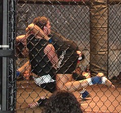 Girl_Fight (oroboros) Tags: county girl club coast virginia fairgrounds fight mixed martial arts prince william east fluid fighting combat northern amatuer fights mma annihilation fightworx