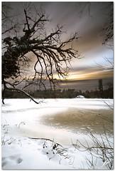 winter morning at bergsee (chris frick) Tags: morning winter lake snow ice clouds sunrise frozen bergsee gitzo ballhead gnd badsaeckingen remoteshutterrelease canoneos5dmarkii chrisfrick canonef1635mm28liiusm leebigstopper
