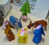 A Nativity In Origami / Une Crèche En Origami