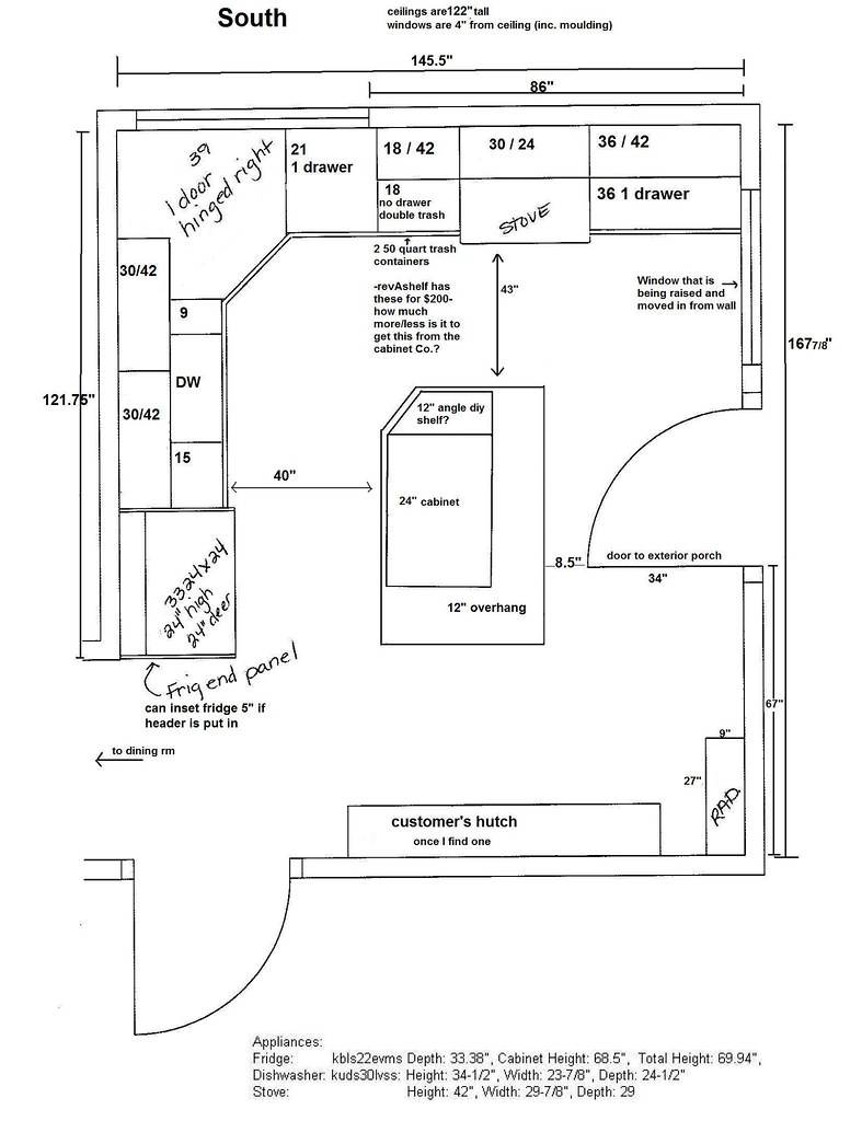 12x14 kitchen floor plan part - 17: 12x14 kitchen floor plan hd