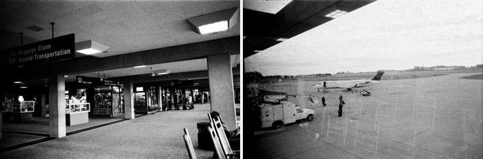 Image of Empty Airport