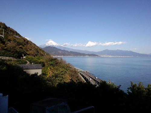 さった峠の眺望 - 駿河湾と富士山を一望