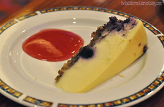 Sugar Free Blueberry Cheesecake at Mystic Lake Buffet ~ Prior Lake, MN