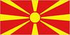 vlajka MAKEDONIE (FYROM)