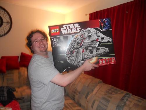 YOU B@STARDS ... I got a Millennium Falcon!!! 5288964489_84094b65eb