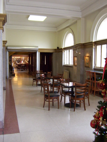 North east part of main lobby
