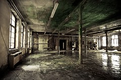 Forgotten. (Gerd Doerfler) Tags: old house cold building green abandoned industry broken monument glass stone architecture germany dark dead lost sadness grey scary ancient ruins long solitude frost industrial december factory sad stones decay empty interieur room exploring bricks memories dramatic grau places dirty gone forgotten memory mysterious inside lonely coal exploration desolate destroyed glas emptiness industries desolation factories langzeitbelichtung abandonedplaces entsättigt