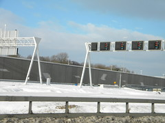 A2 in The Netherlands (Timon91) Tags: winter snow netherlands highway motorway sneeuw nederland autobahn freeway a2 niederlande snelweg autosnelweg