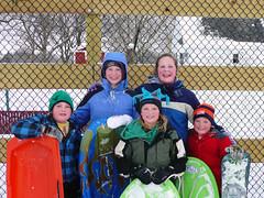 they had fun (army.arch) Tags: snowboarding sledding