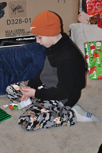 Benton -- Longhorn Hat Was in His Stocking