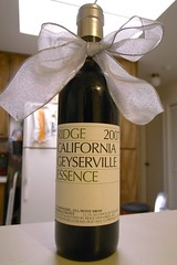 2007 Ridge Geyserville Essence