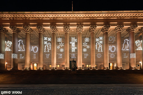 St George's Hall, Liverpool at Christmas...but