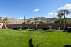 View From Backyard (todd*) Tags: arizona house grass clouds yard backyard relaxing hills blueskies afterrain ahwatukee