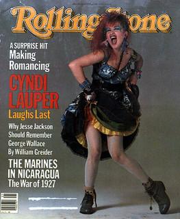 Cyndi Lauper RollingStone Cover