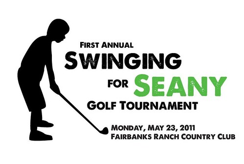 Swinging for Seany Logo