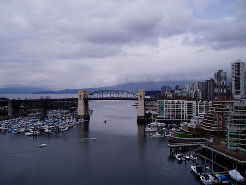 Burnaby bridge from Granville bridge