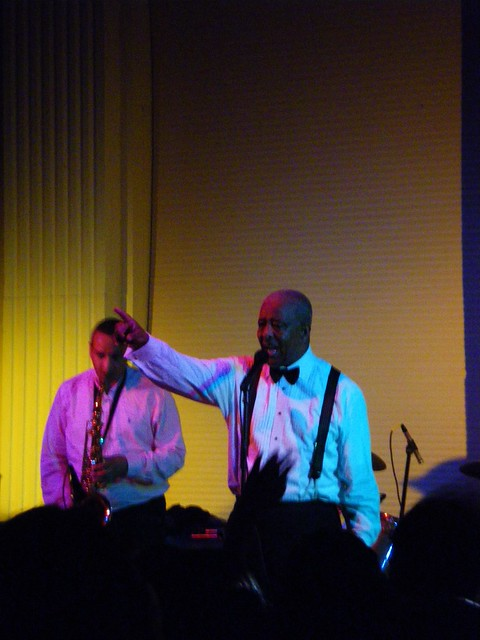 Mahmoud Ahmed show, Portland, OR, January 1, 2011
