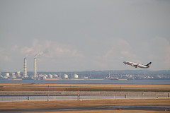 Take off (D runway & Kisarazu)