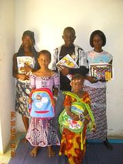 Enfants parrainés, pour la rentrée scolaire 2010/2011