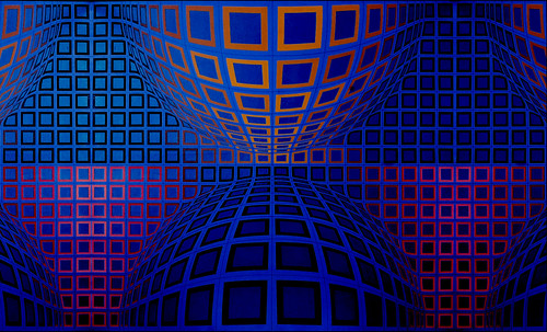 "Victor Vasarely • <a style=""font-size:0.8em;"" href=""http://www.flickr.com/photos/30735181@N00/5323514607/"" target=""_blank"">View on Flickr</a>"